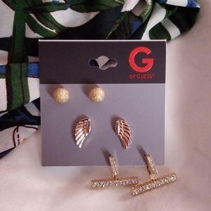 3 Pack of Guess Earrings
